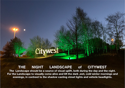 The Night Landscape of Citywest