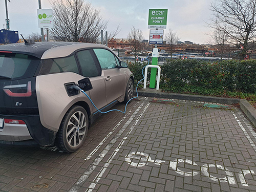 Citywest Shopping Centre Car Charger