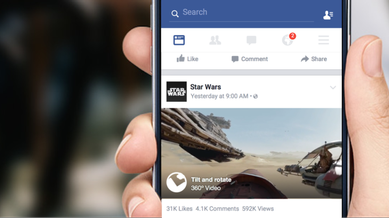 Facebook launches reaction buttons beyond 'like' to become more expressive