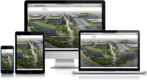 Urban Solutions responsive web design web site.
